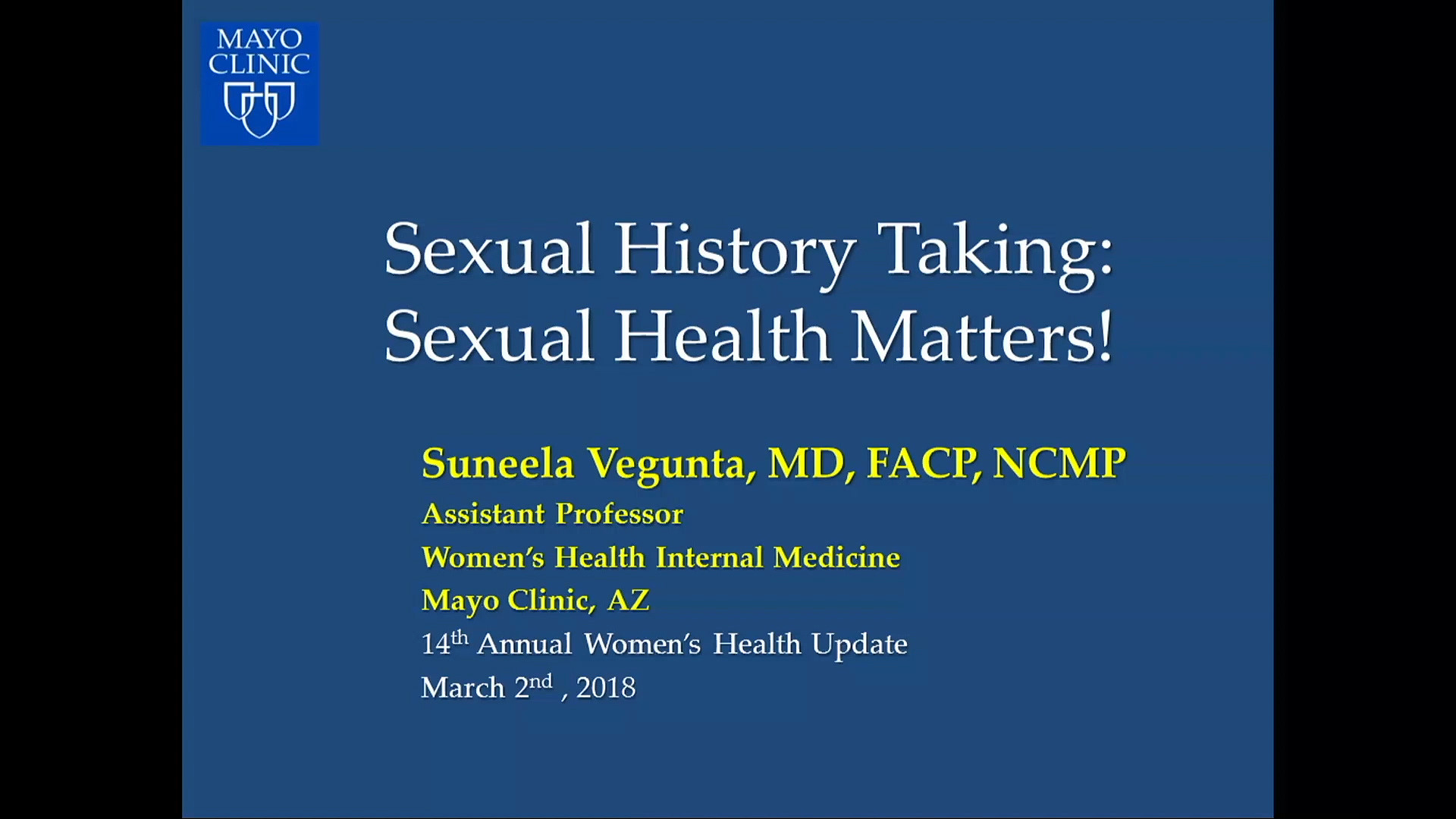 Sexual History Taking: Sexual Health Matters! (Audio) by