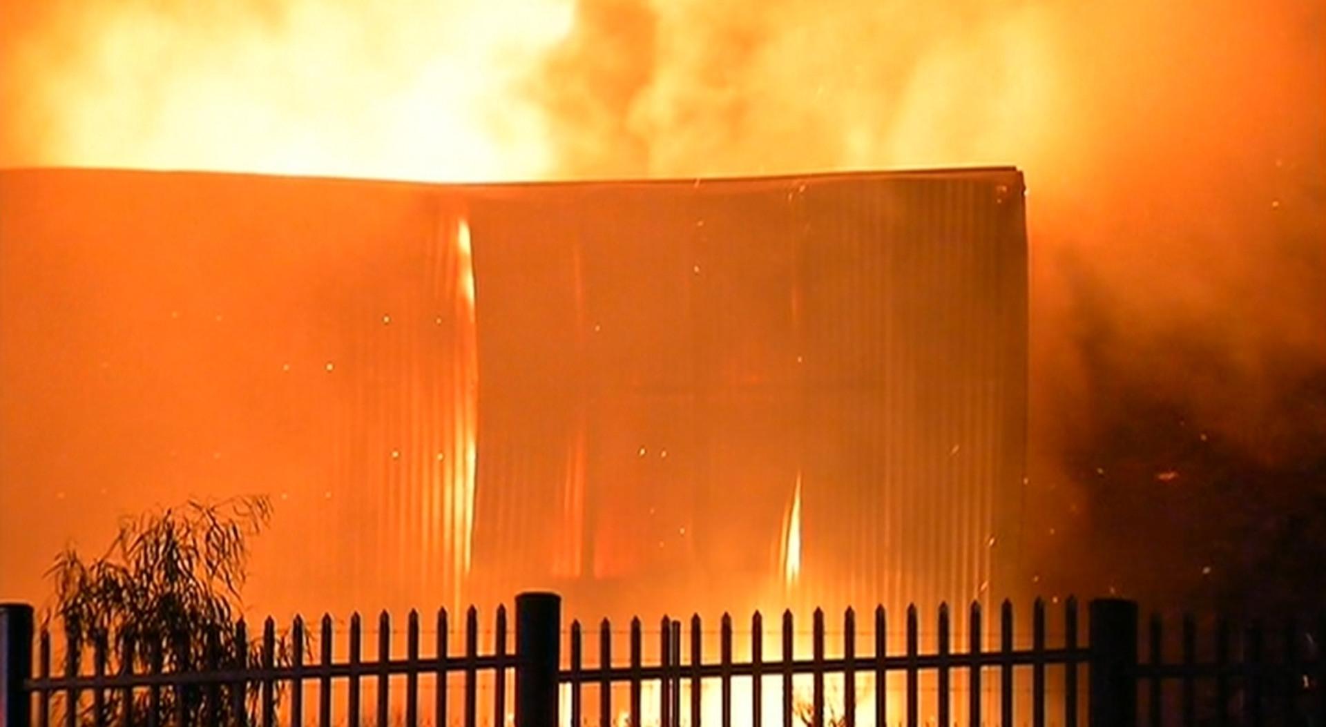 47127086fe Melbourne factory fire deemed suspicious