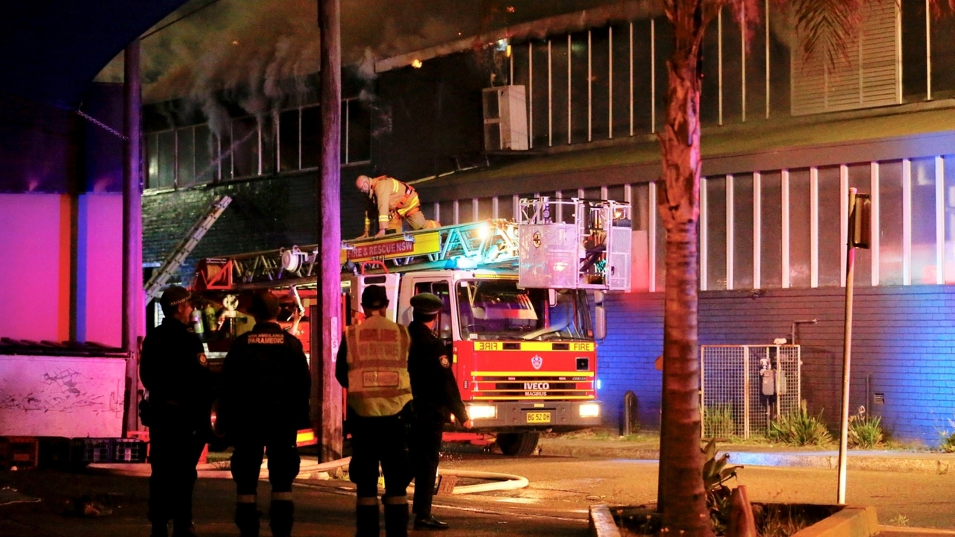 sydney car park fire to cause traffic chaos | sky news australia