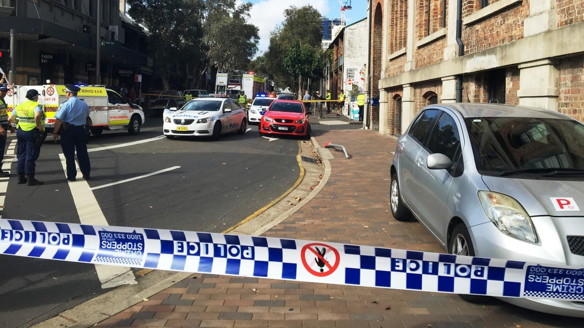 two pedestrians hospitalised following sydney car crash | sky news