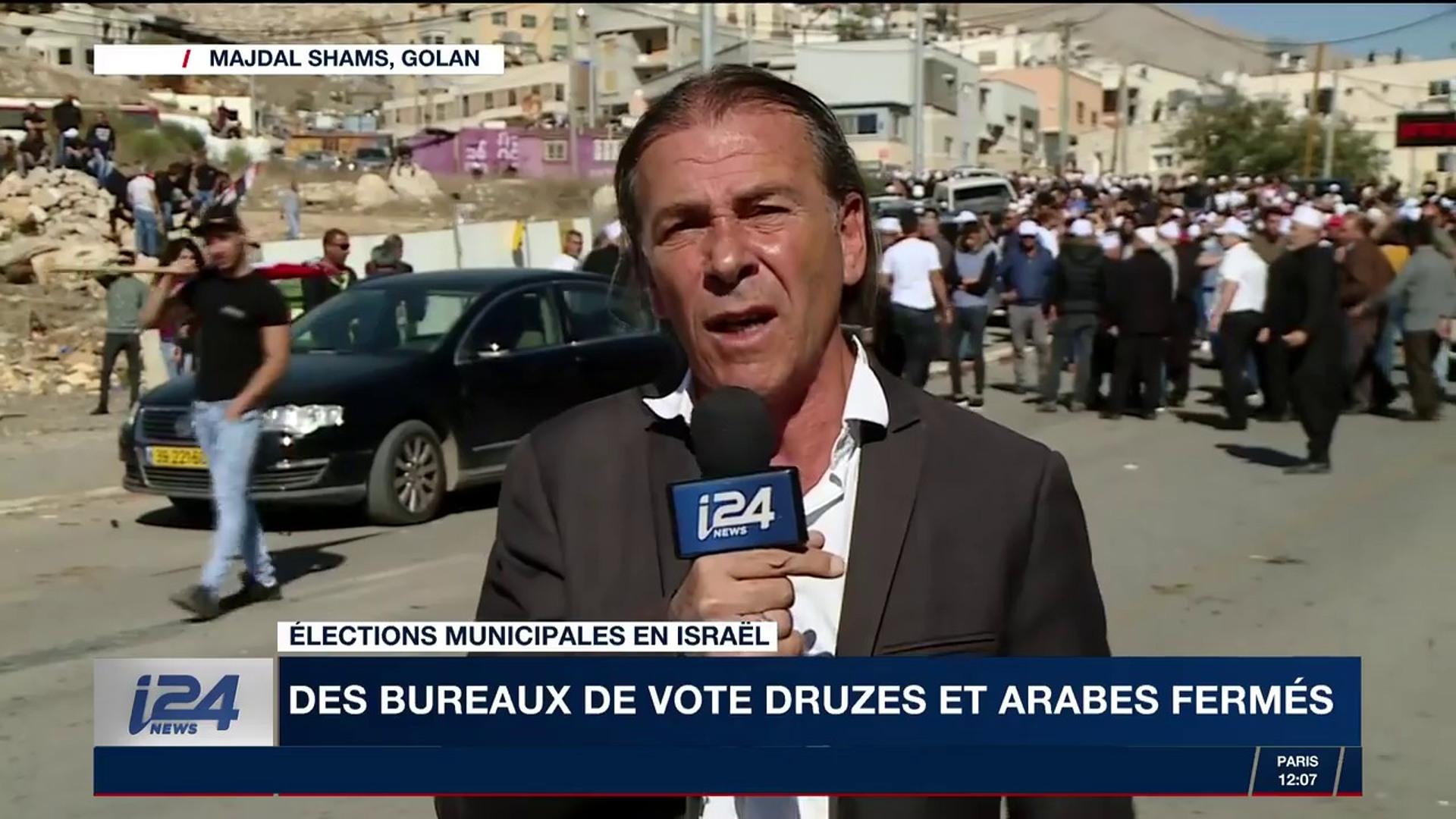 Elections municipales en israël des bureaux de vote druzes et