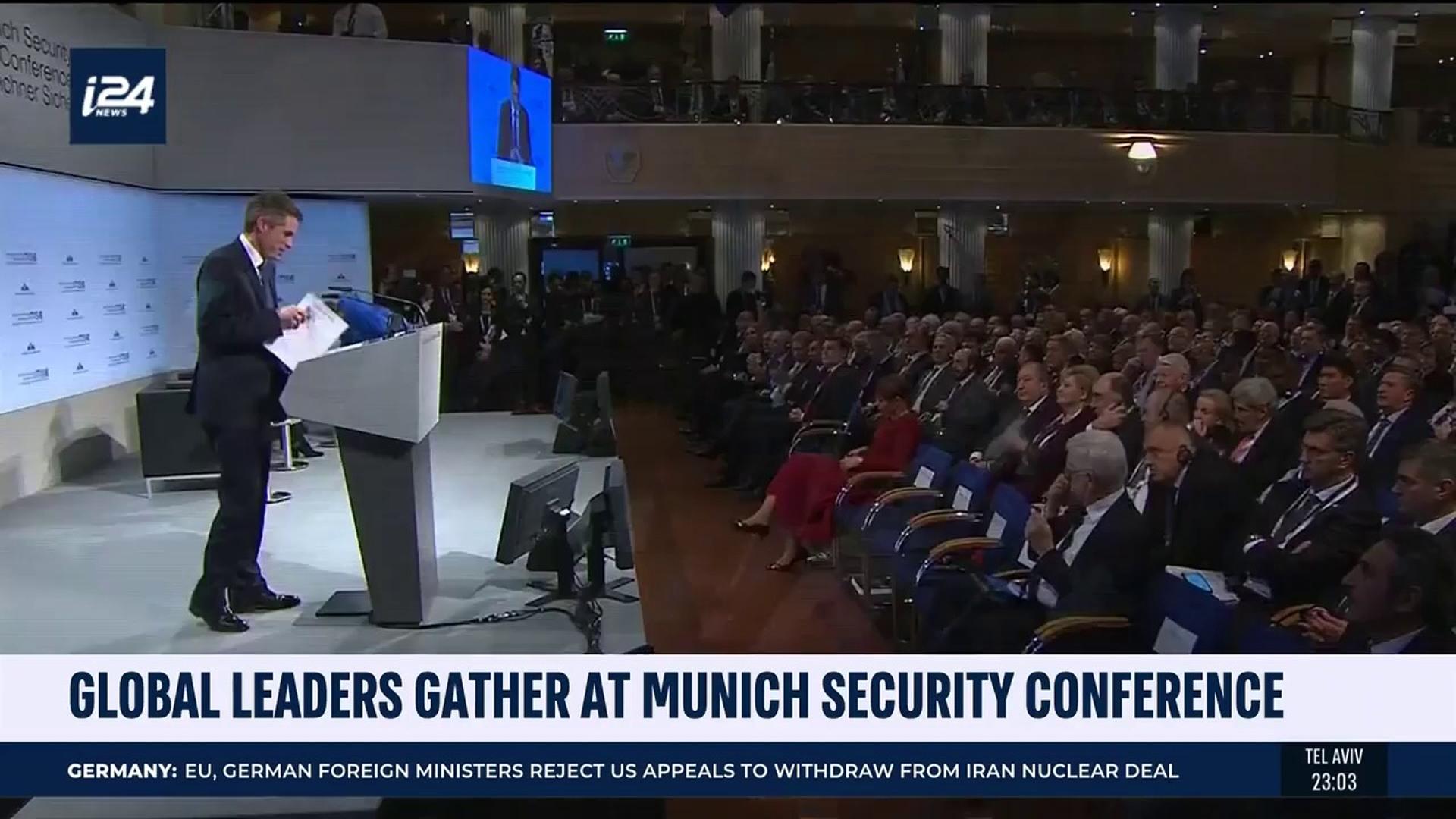 munich security confere overview - HD1920×1080
