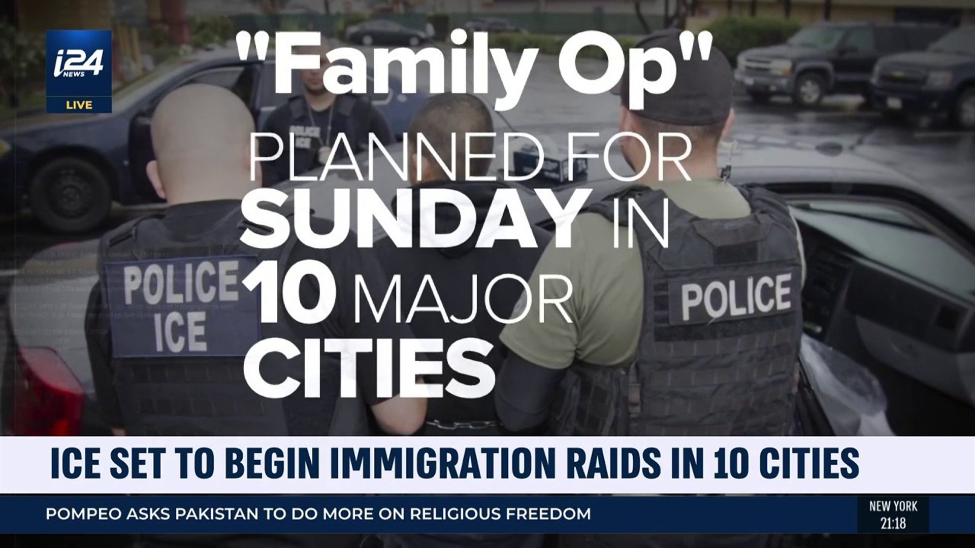 ICE set to begin immigration raids in major US cities | June