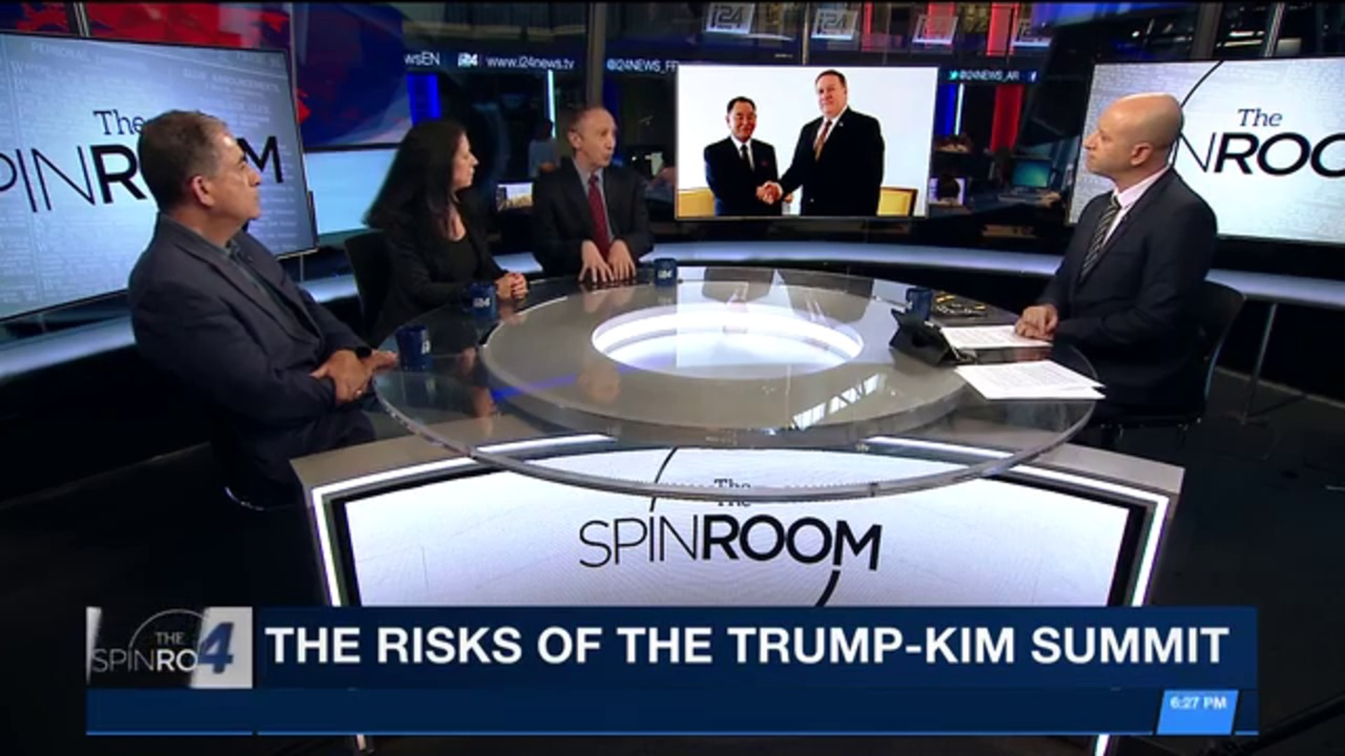 THE SPIN ROOM | With Ami Kaufman | Guest: Columnist & Member