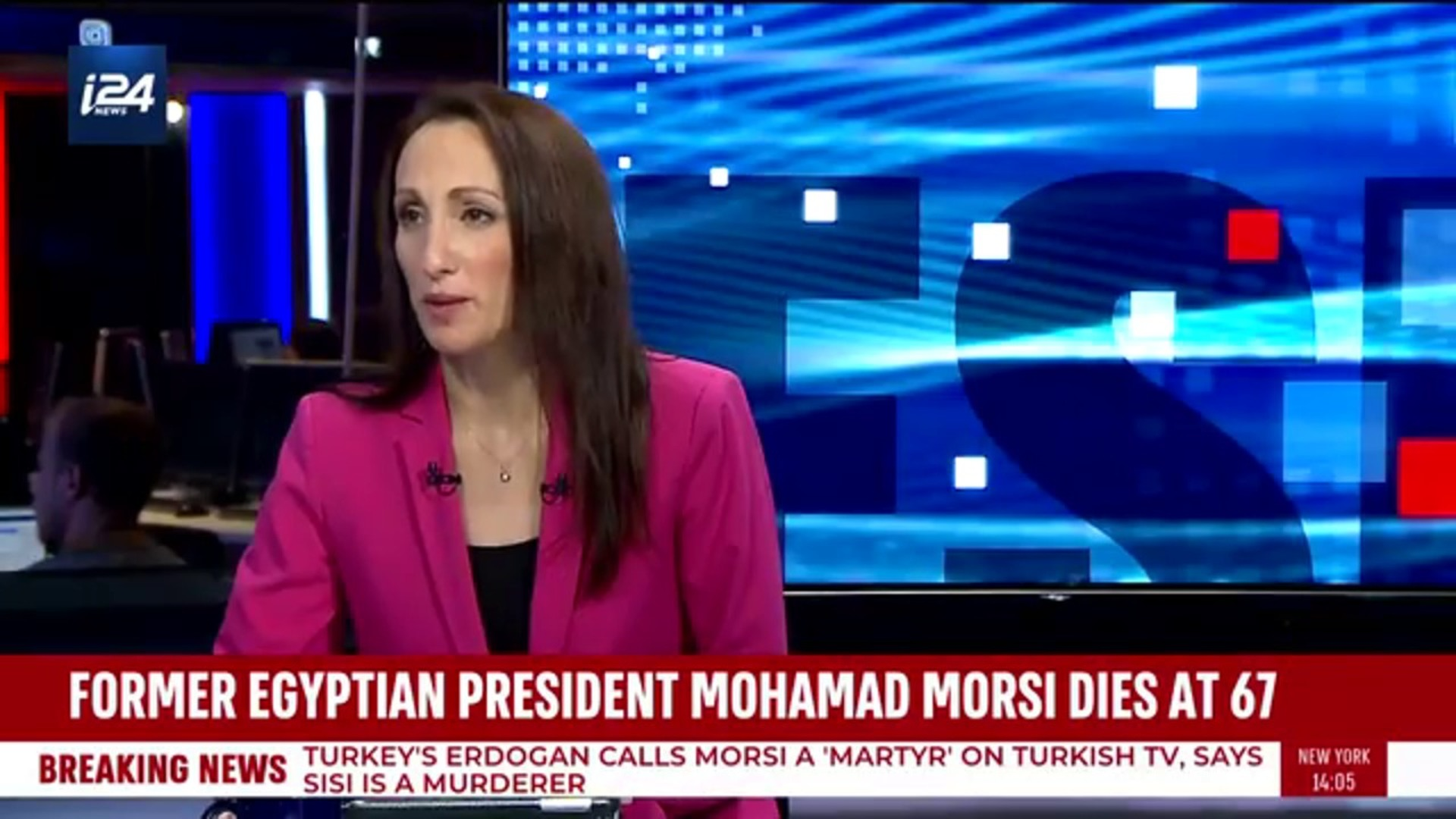 i24NEWS DESK | Ousted Egyptian leader dies after collapsing