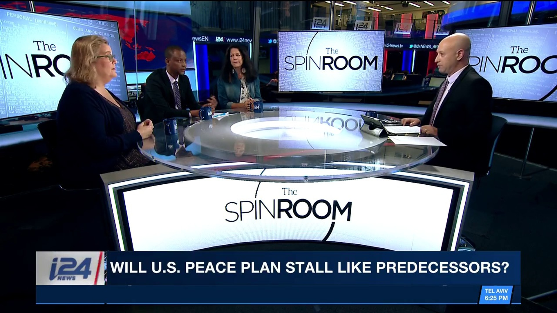 THE SPIN ROOM | Defense Min : we will act against Iran in Syria