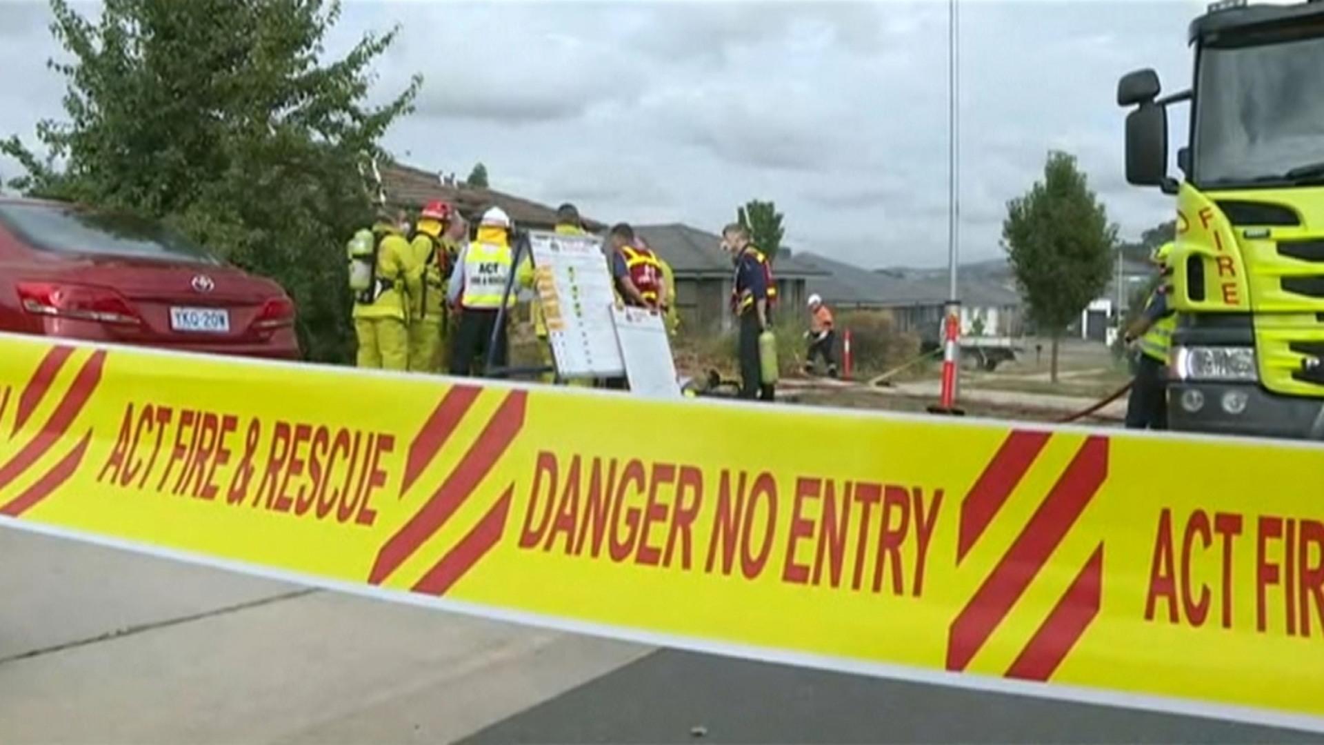 suspicious canberra house fire kills three | sky news australia