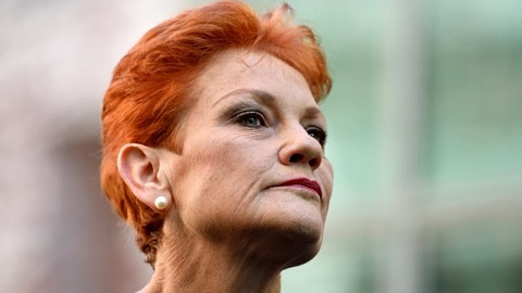Pauline Hanson to abstain from voting to censure Fraser Anning