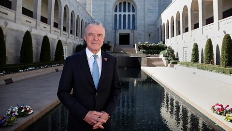 In a context of war, we are here to celebrate love: Brendan Nelson