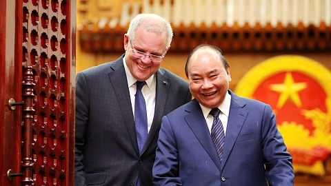 Morrison calls for 'independent and sovereign' Indo-Pacific | Sky News Australia