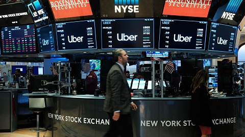 Uber makes lower than expected Wall Street debut