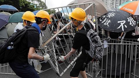 Hong Kong protestors clash with police   Sky News Australia