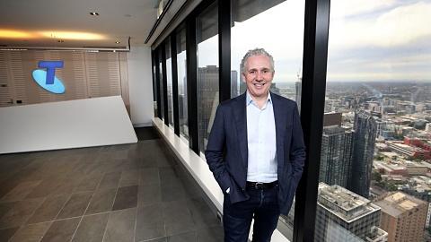 Telstra has 'positive momentum' despite profit plunge   Sky News Australia
