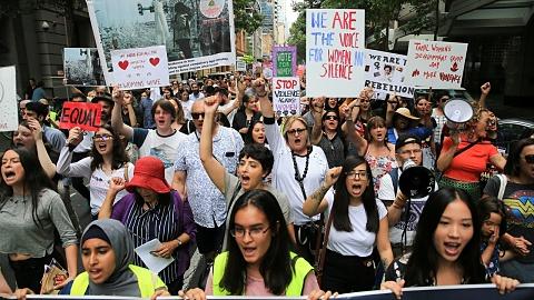 Hundreds gather for Sydney's Women's March | Sky News Australia