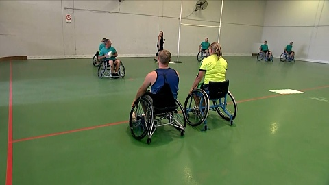 Injured soldiers find community in wheelchair sports | Sky News Australia