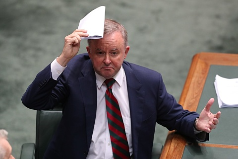 Albanese escapes 'flagged' coal mine visit to criticise gvt on climate change   | Sky News Australia