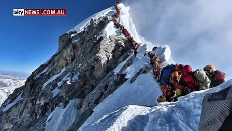 Death toll rises on Mt Everest | Sky News Australia