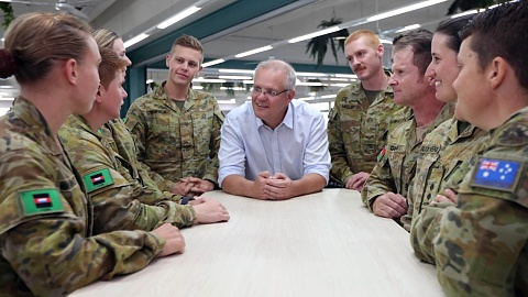 PM salutes servicemen and women in Townsville