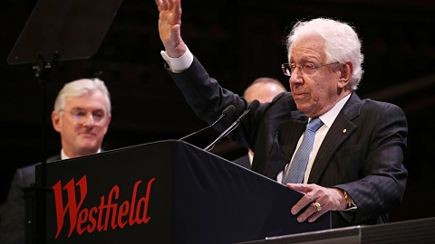 Sir Frank Lowy sells out of Westfield empire | Sky News Australia
