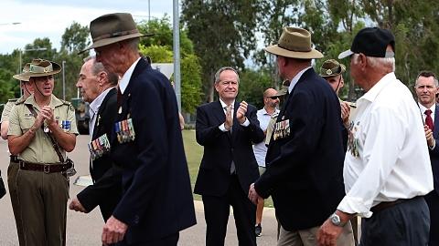 Australian's can't let terror threats stop Anzac Day: Shorten