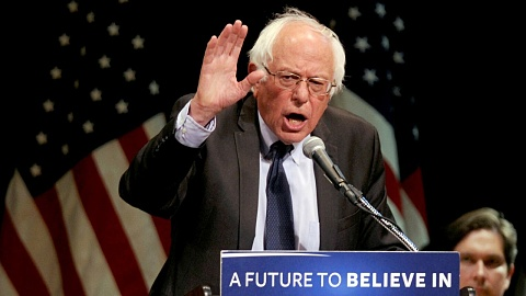 Bernie Sanders frustrated by media coverage of campaign | Sky News Australia