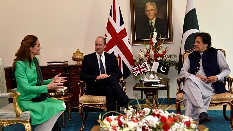 William and Kate meet Pakistan's PM   Sky News Australia