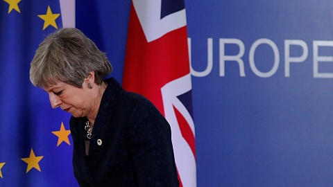 Theresa May concedes lack of support for Brexit deal