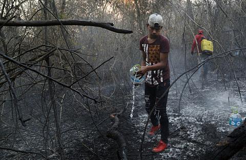 Protestors gather in Bolivia over govt inaction on fires   Sky News Australia