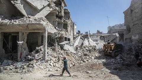 Russian warplanes bombed civilian targets in Syria   Sky News Australia