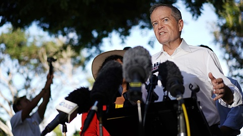 Shorten attacks 'stupid' criticisms of Labor's climate policy