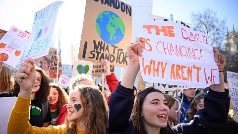 UK school children strike over 'lack of climate change action'