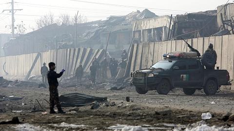 US military plane crashes in Afghanistan | Sky News Australia