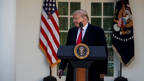 Trump signs bill to avert shutdown, but national emergency stays