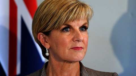 Bishop splits with Morrison's view on Australia-China relations
