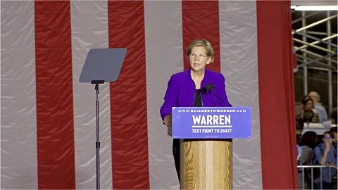 Concern for Warren after polling slump | Sky News Australia