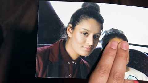 Islamic State teen could be prevented from UK return: Home Secretary