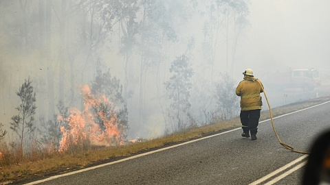 Qld firefighters working to gain the upper hand   Sky News Australia