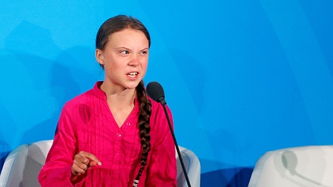 Prince Harry praises Greta Thunberg for her climate activism   Sky News Australia