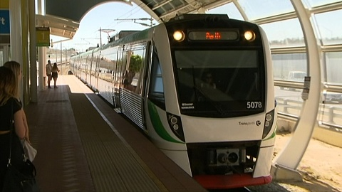 Explosive found hidden in backpack at Perth station