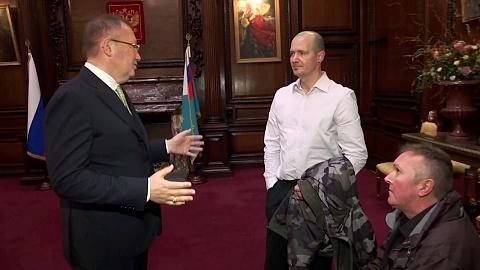 Novichok attack victim confronts Russian ambassador
