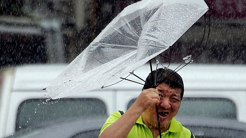 Typhoon Lekima makes landfall in China   Sky News Australia