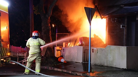 Police hunt arsonist after several fires deliberately lit in Sydney | Sky News Australia