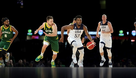 Basketball fans demand refunds following Australia vs USA blockbuster   Sky News Australia