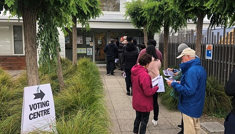 Polling booths open for Victoria's state election
