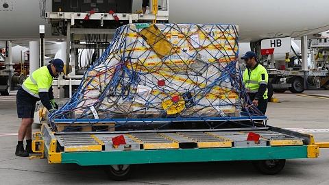Second shipment of Pfizer vaccines lands in Sydney - Sky News Australia