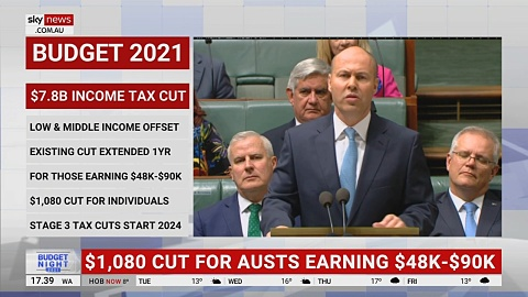 Government announces $7.8b in further tax cuts for low and middle-income earners | Sky News Australia