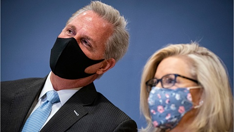 Senior Republican Kevin McCarthy says he's 'had it' with Liz Cheney in damning leaked audio | Sky News Australia