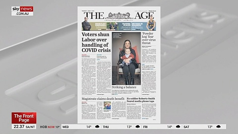 Victorians shun Andrews government over pandemic handling in latest poll | Sky News Australia