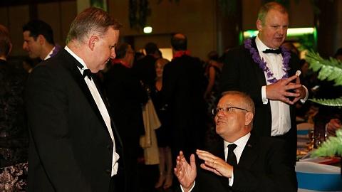 WATCH: ScoMo and Albo give Mid-Winter Ball addresses | Sky News Australia