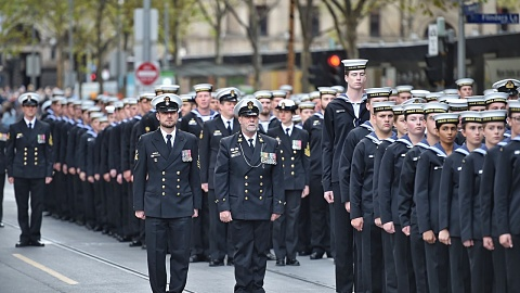 Melbourne experiences downturn in Anzac Day participation
